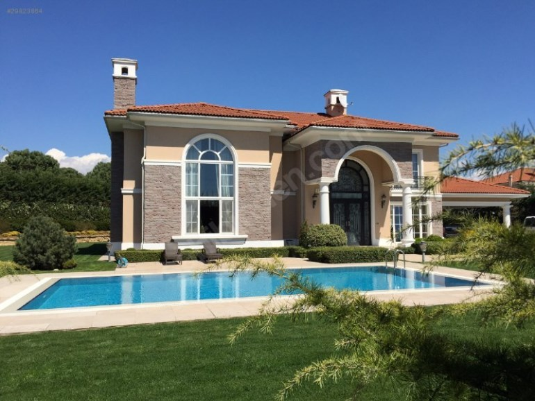 Luxury Detached Villa with Private Swimming Pool for sale In Buyukcekmece Istanbul