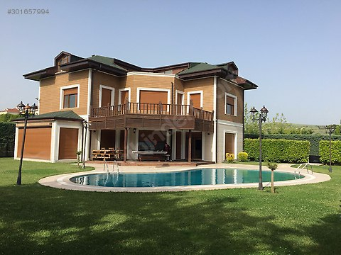 Unique Detached Villa with sea view for sale In Buyukcekmece Istanbul