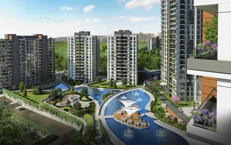 Unique Apartment for sale In Bahcesehir Istanbul