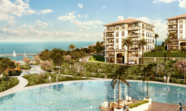 Sea View Apartments for sale In Beylikduzu Istanbul