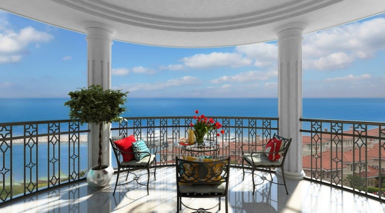 Sea View Villas for sale In Beylikduzu Istanbul