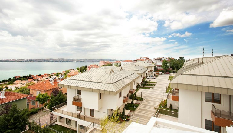 Fourlex Sea View Villa for sale In Istanbul