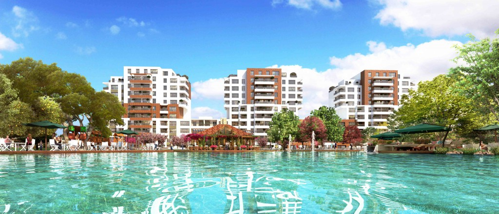 Lake View Apartment for sale In Sancaktepe Istanbul