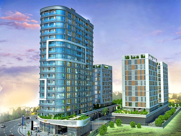 Panoramic View Apartment for sale In Halkali Istanbul