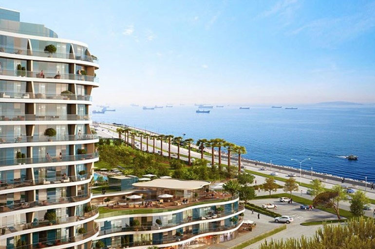 Sea Front Apartment for sale In Kartal Istanbul