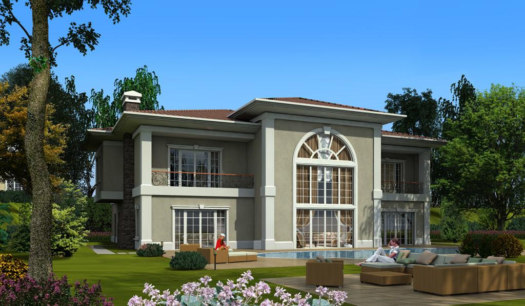 VIP Villa for sale In Buyukcekmece Istanbul
