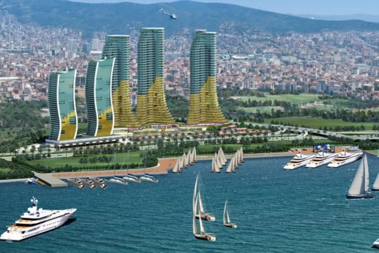 High Standard Marina Residence For sale In Kartal Istanbul